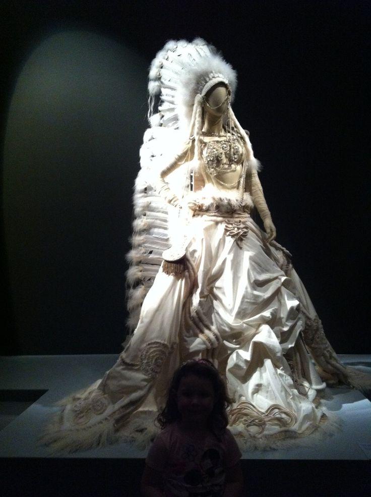 Gaultier American Indian Wedding Dress Gaultier Wedding