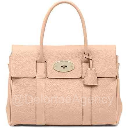 Delortae Agency™ | NEWLY LISTED brand new, never carried, MULBERRY nude Bayswater, £915.86 #DelortaeAgency #luxury #authentic #fashion #style