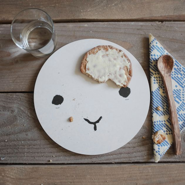easy & cute diy plate for breakfasts...gonna make them this weekend with my girls <3...