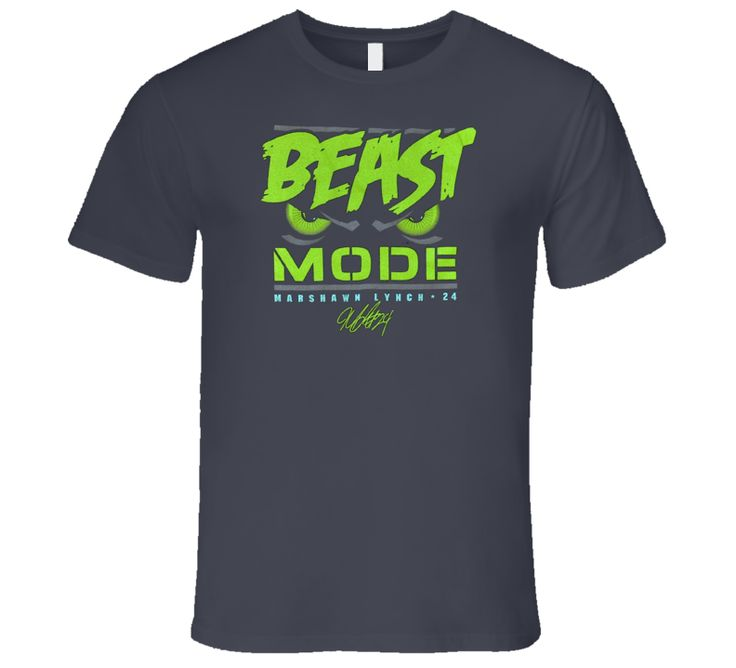 beast mode marshawn lynch 24 seattle football seahawks T Shirt