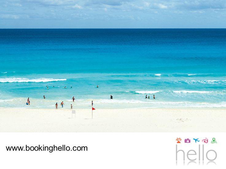EL MEJOR ALL INCLUSIVE AL CARIBE. Atrévete a descubrir con tus amigos, las diferentes playas que conforman a Cancún. Chac Mool es una de las más relajantes y aunque cuenta con un oleaje de moderado a fuerte, es ideal para escaparte a tomar un descanso y contemplar su maravilloso mar turquesa. En Booking Hello te invitamos a adquirir alguno de nuestros packs all inclusive, para tener unas vacaciones fantásticas con todo incluido. #BeHello