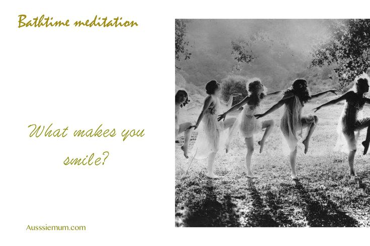 Run a warm bath.  Light a candle, Have a good soak and reflect upon your life and dreams.