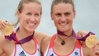 Helen Glover & Heather Stanning  Olympic Gold