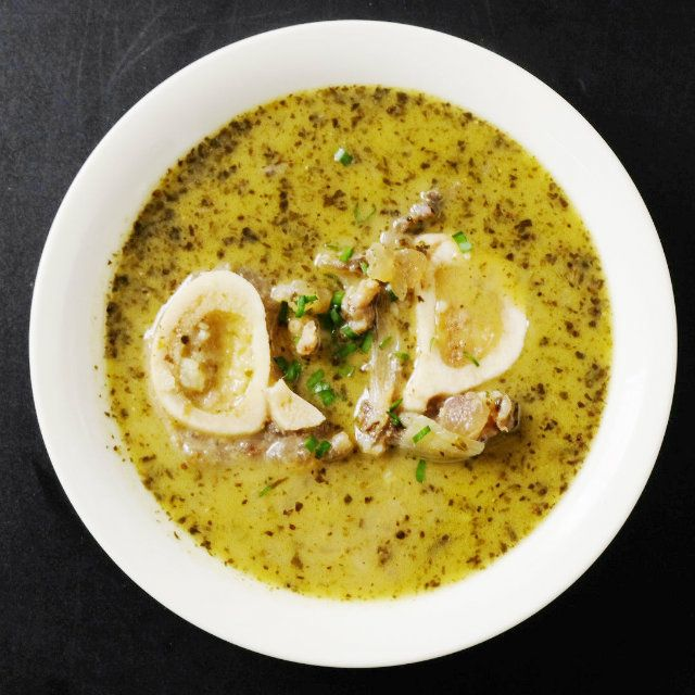 Lemongrass Herb Bone Marrow Soup