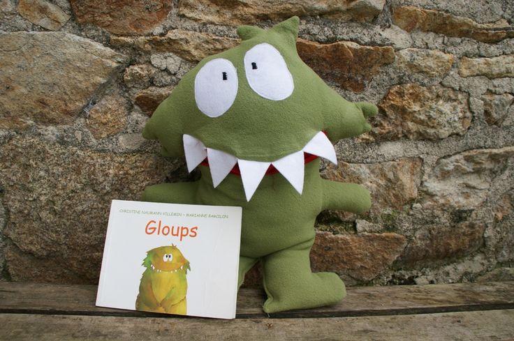 GLOUPS : coudre la mascotte de la classe! Album Gloups