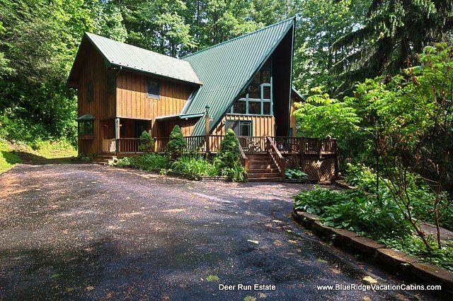 28 best cabin rentals images on pinterest blue ridge for Blue ridge cabin rentals pet friendly
