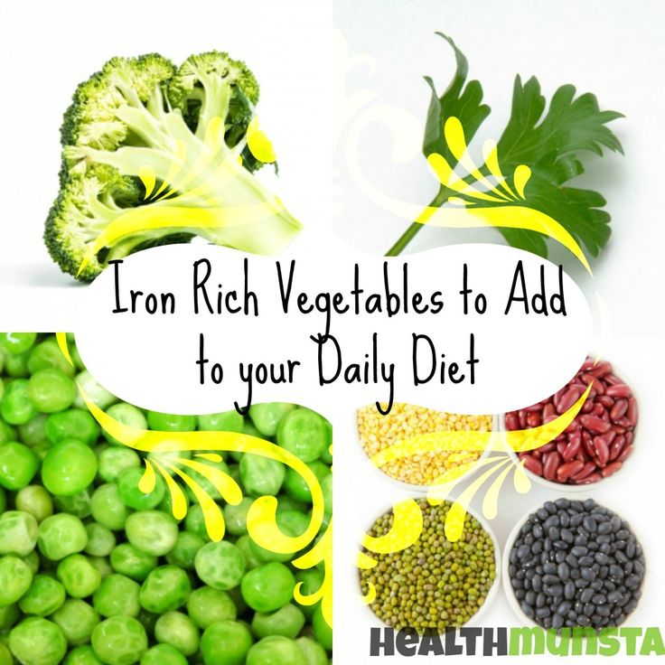 Iron is one of the most important minerals needed by the body to form blood. Without iron, the quality and quantity of blood will be low and diseases will form. Add iron rich vegetables in your daily