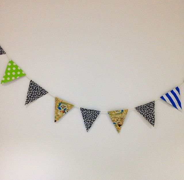 Boys Pirate Inspired Bunting
