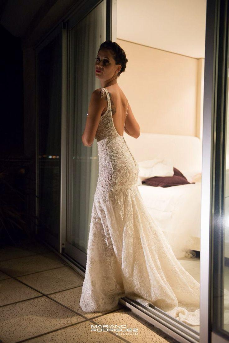 Marisa Campanella vestido de novia . Soñado !!!