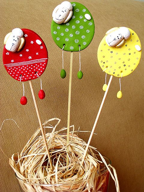 Easter rams I by Stylishornaments and Crafts, via Flickr