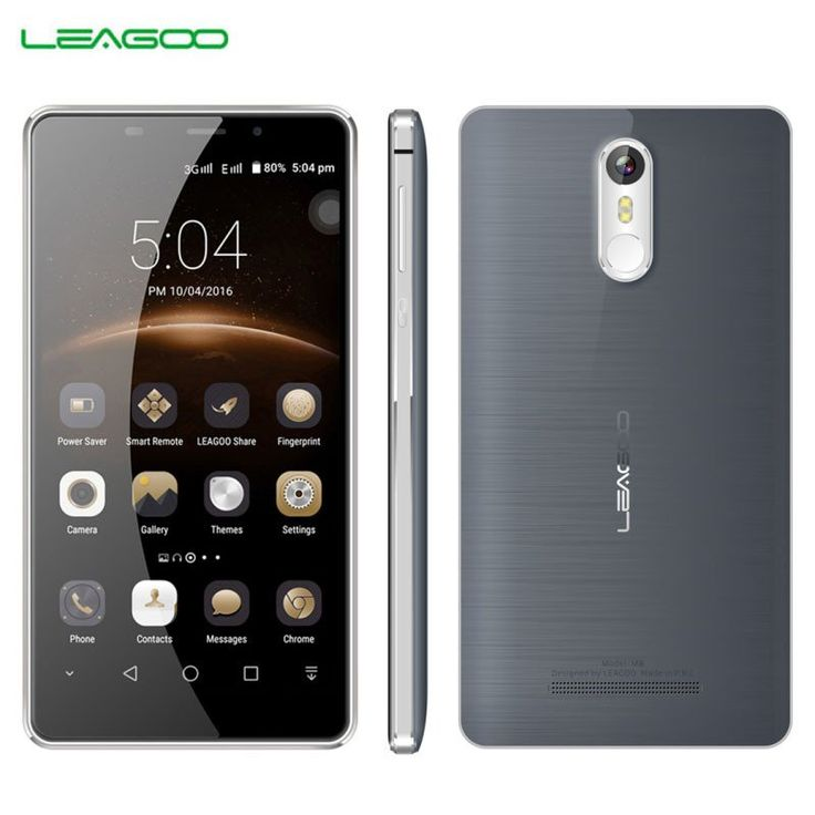 new arrival LEAGOO 16GB/2GB Smartphone 0.19s Fingerprint 5.7'' 2.5D Arc Freeme 6.0 Quad Core up to 1.3GHz Dual SIM GPS