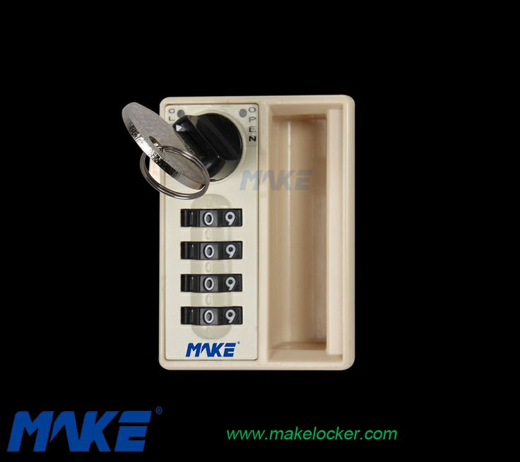 Combination locker locks: Make Locker Manufacturer Ltd 2014 We are a manufacturer specialized in producing lockers and locker locks,both of which are aiming at high-end market The following combination locker lock is recommended for you. Material Lock body: ABS Cylinder: Brass and Zinc alloy  Keyless convenience ,User to set their own number codes Override key for door emergency opening Utilize probe to retrieve the lost pass code http://www.makelocker.com/locker-lock/index.php