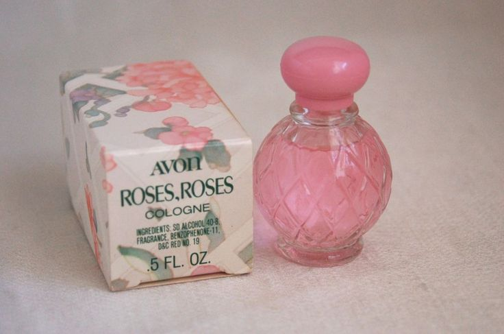 Vintage Avon Roses Roses Cologne 0.5 fl.oz. NIB...my most favorite scent is roses and this was so beautiful.
