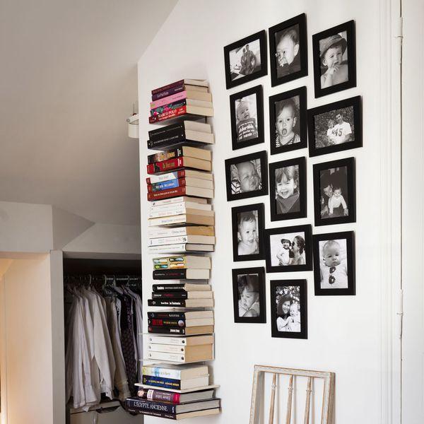 les 25 meilleures id es de la cat gorie tag re invisible sur pinterest livres flottants. Black Bedroom Furniture Sets. Home Design Ideas