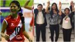 Ex 'matadorcita' fue elegida como presidenta de la federación peruana de vóley