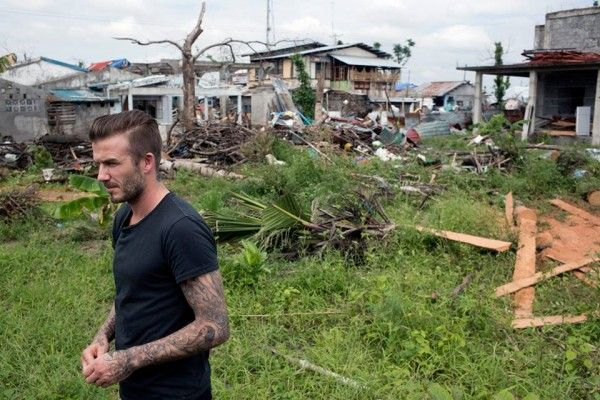MANILA: Two major UN departments, football stars and a renowned film director have put their hands together to generate a resurgence in the relief of Typhoon Yolanda survivors.  Even as football's superstar David Beckham, United Nations Children's Fund (Unicef) goodwill ambassador, visited the ravaged areas with 14 million affected by the typ
