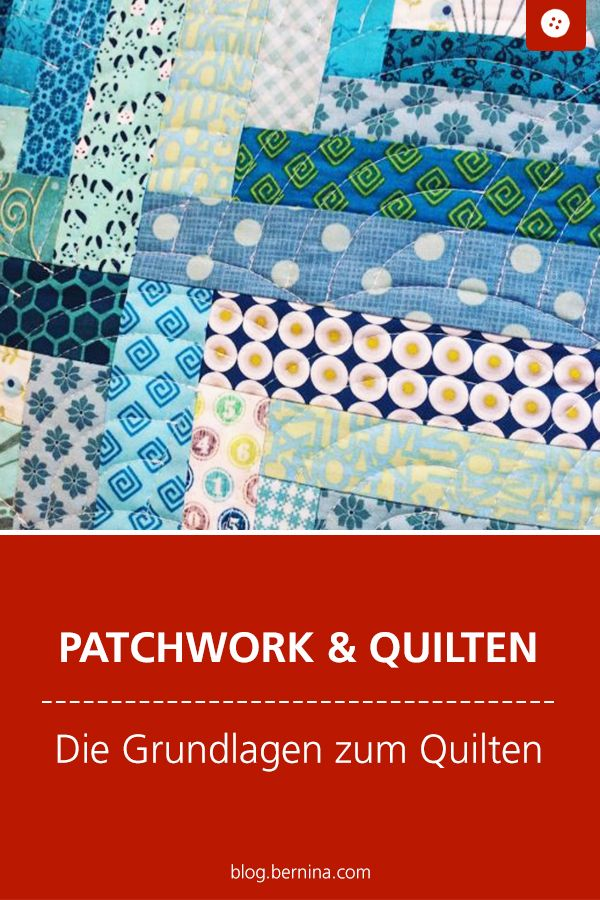 BERNINA Medaillon Quilt-Along / Die Grundlagen zum Quilten