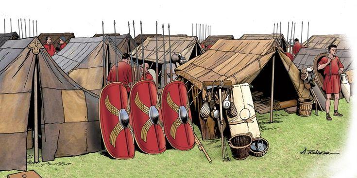 ...Az őrzők tüzéből, hogy ne legyen olyan rossz a várakozás. Most akkor következzen is a második, A római légió címre hallgató fejezetből kiemelt részlet!