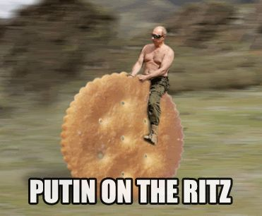 political memes 018 putin on the ritz