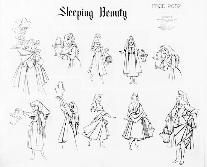 The Art Behind The Magic | Aurora | Disney's Sleeping Beauty