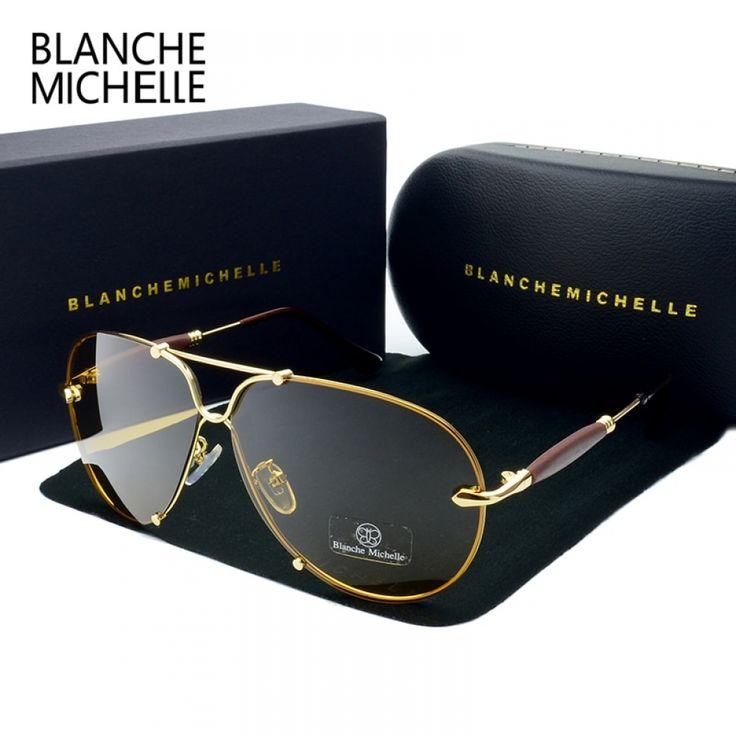Rimless Sunglasses Men Polarized Women UV400 Sunglass