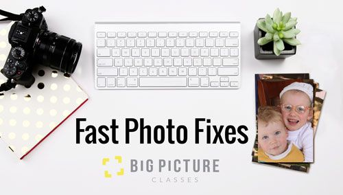 Do your photos need help? There's simple (and quick fixes) you can make in Photoshop Elements #scrapbooking #photography