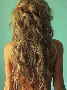 how to do big messy curls