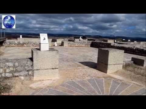 Mosaicos romanos de Clunia Sulpicia Burgos, Roman Mosaic - Opus Tessellatum - YouTube
