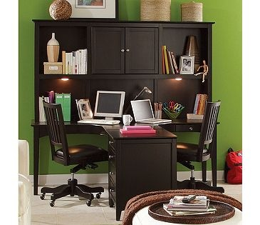 Aspenhome Midtown Two Person Dual T Curved Desk with Storage Hutch  Combination   Belfort Furniture   L Shape Desk Washington DC  Northern. 27 best Aspen Home Furniture images on Pinterest   Aspen  Bedroom