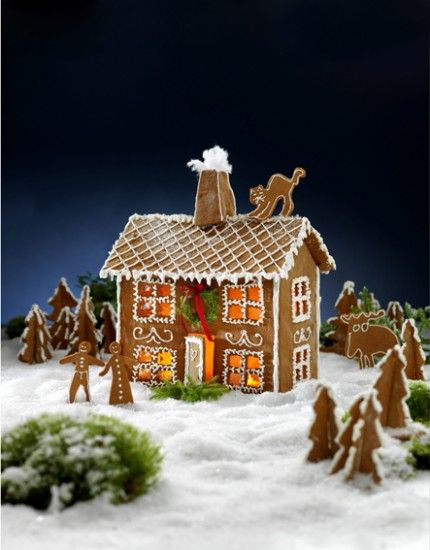 Build a Gingerbread House - Step-by-Step
