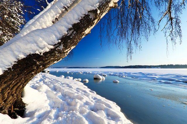 Paisaje invernal. Høvikodden, #Noruega