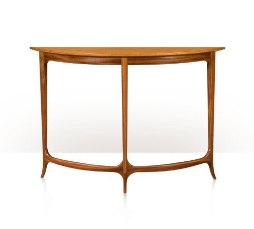 In Curve I Graceful Yet Elegant Demi Lune Table
