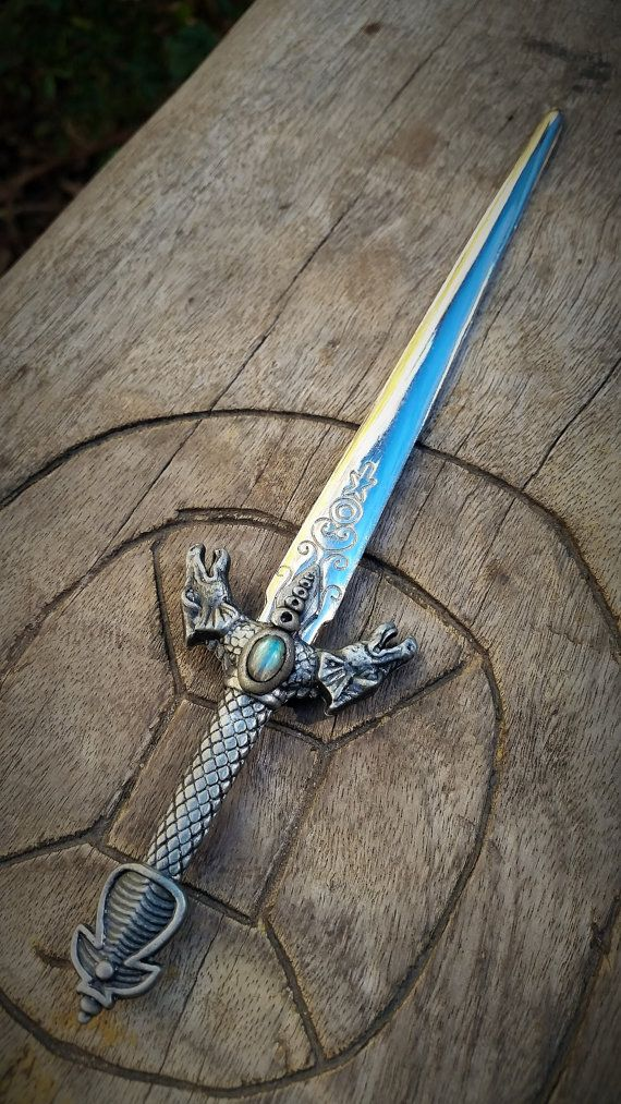 Valyrian steel mini sword Targaryen inspired by by EnchantedShaman