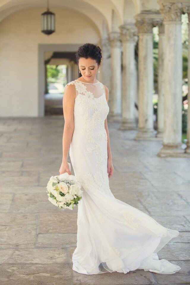 The Vivienne Dress Customized Couture By Andreau0027s Just For This Bride. So  Beautiful In Her