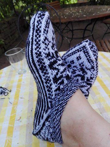 Scandinavian slippers