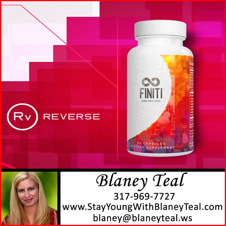 RESTORE: FINITI™ contains a unique blend of ingredients and is Jeunesse's most advanced supplement to date. A proprietary blend, FINITI contains a unique combination of fruit and vegetable extracts.  VISIT >>> www.stayyoungwithblaneyteal.com for more info!