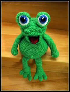 Fannysbuntewelt: Häkelanleitung Frosch