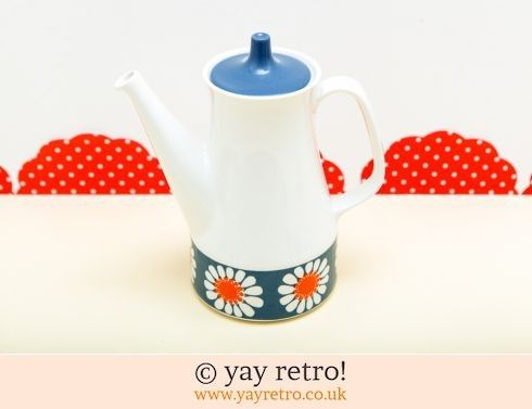 60: Figgjo Flint Daisy Coffee Pot (£70.00)