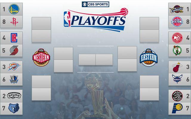 2016 NBA Playoffs: Series schedules, dates, times, TV info and bracket - CBSSports.com