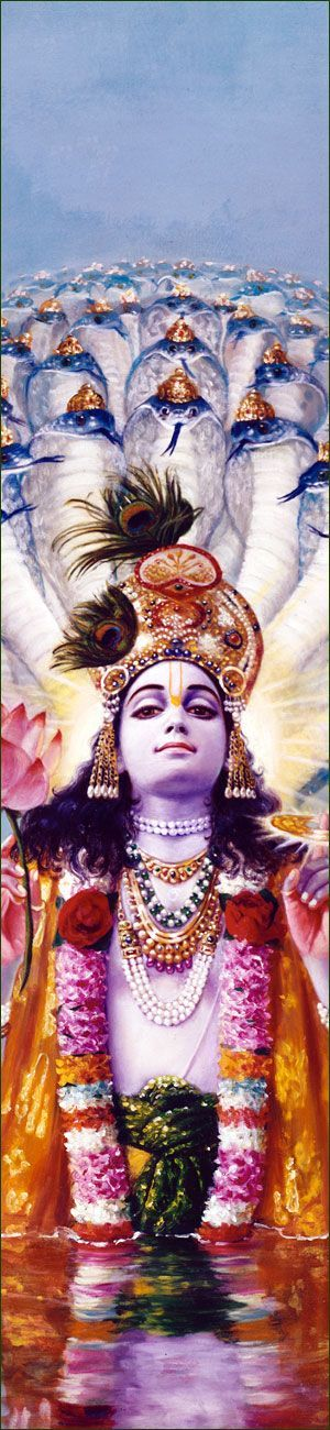Lord Vishnu- The preserver and protector of Life. Ram and Shyam were his carnation.