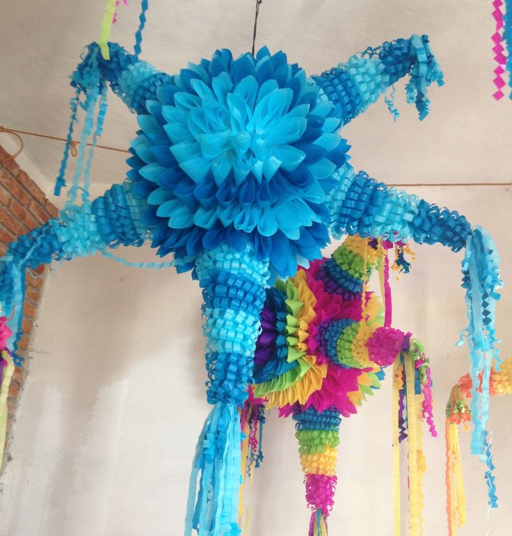 Piñatas 100% made in Mexico. Want one? Find more information on www.mymexicanparty.com