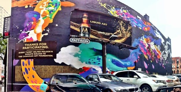 Great pic of the finished mural via @brianhardy1977