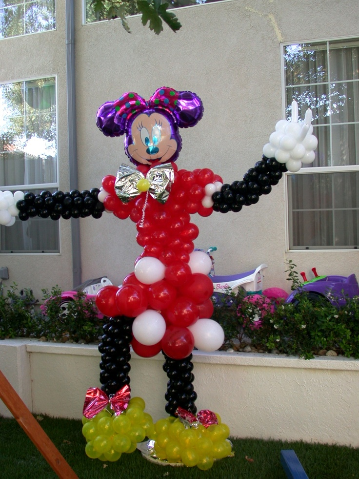 Minnie Mouse Party Balloons