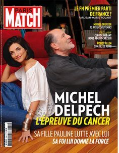 Pauline Delpech et Michel Delpech