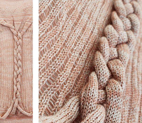 Образцы машинного вязания на портфелях RISD