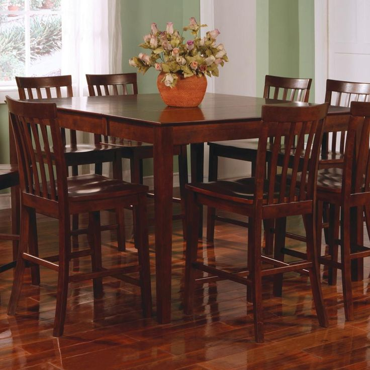 Best Bar Pubs Images On Pinterest Pub Tables Coaster - Counter height dining table with leaf