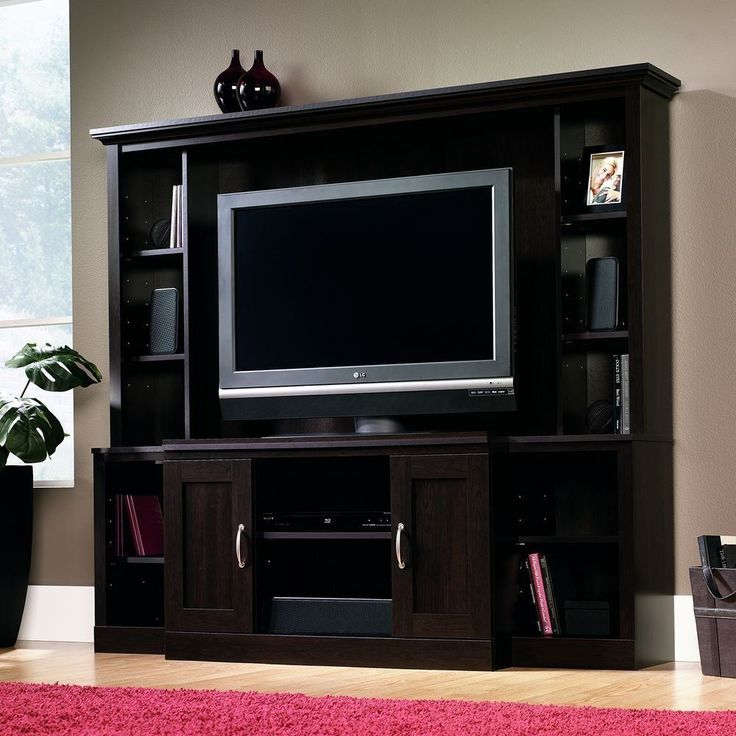 25 best ideas about tv entertainment wall on pinterest wall entertainment center Wooden entertainment center furniture