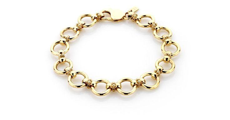 Gold Circlet Bracelet. Michael Wilson Diamond Jewellers-Hourglass & Circlet Collections
