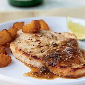 Ginger Lime Swordfish: Easy Recipe, Cooking Lighting, Gingers Limes, Myrecipes Com, Perfect Sauces, Limes Swordfish, Gingers Lim Swordfish Sounds, Swordfish Recipe, Soy Sauces