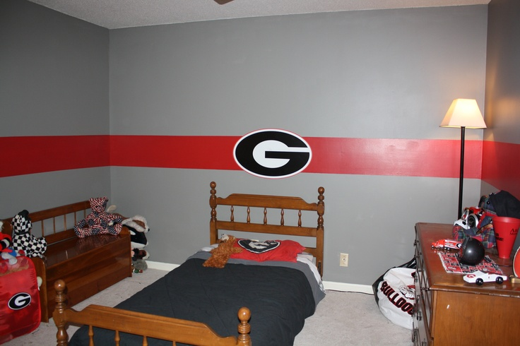 Uga Bedroom Our House Pinterest Stripes My Son And Sons